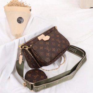 LV Multi Pouchette Accessories Bag Monogram M44813
